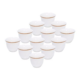 طقم فناجين قهوة عربية   12 قطعة