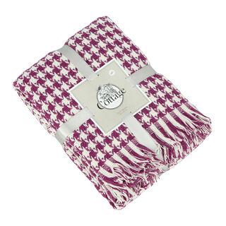 بطانية قطن مقاس 160x200 لون بنفسجي من كوتاج