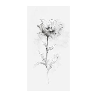 ديكور حائط زهور