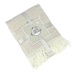 بطانية خفيفة منقطة من كوتاج