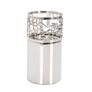مبخرة معدنية باللون الفضي