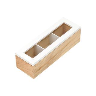صندوق شاي 3 أقسام