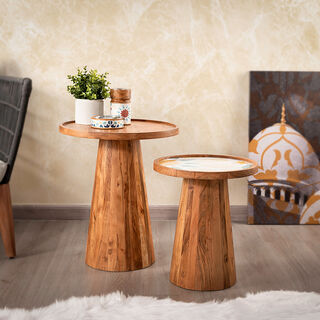 طاولة جانبية من السيراميك