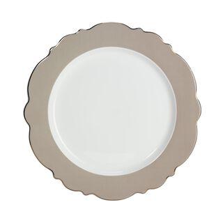 طقم طبق لأسفل صحن المائدة قطعتين
