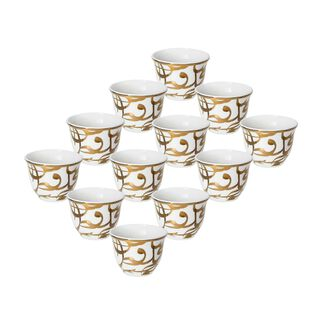 طقم أكواب قهوة كان ياماكان 12 قطعة