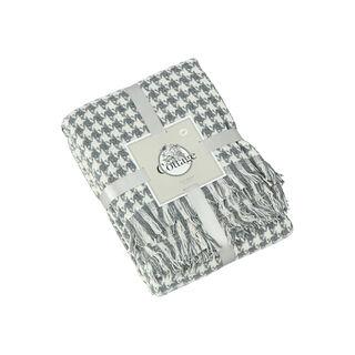 بطانية قطن مقاس 160x200 لون رمادي من كوتاج