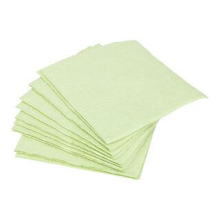 مناديل ورقية مربعة الشكل اخضر من الجانس