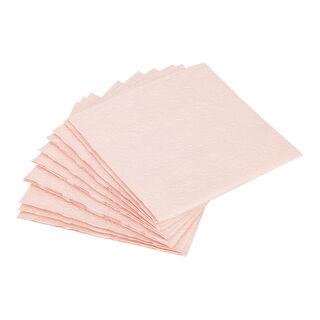 مناديل ورقية مربعة الشكل وردي من الجانس
