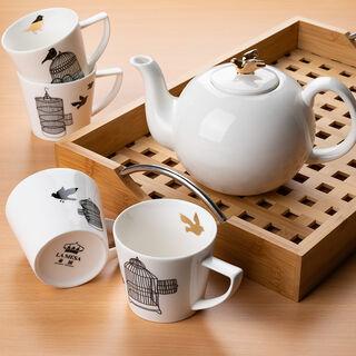 ابريق شاي بورسلان من لاميسا