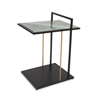 طاولة جانبية بسطح رخامي