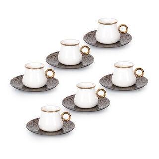 طقم فناجين قهوة تركية 12 قطعة