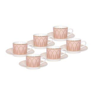 طقم شاي بورسلان 12 قطعة من لاميسا