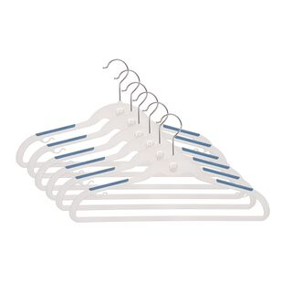 طقم علاقة ملابس بلاستيك 6 قطع