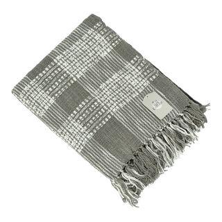 غطاء خفيف 125*150 سم لون رمادي من كوتاج