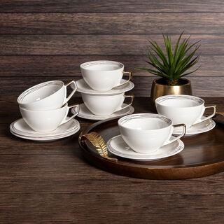 طقم أكواب شاي 12 قطعة