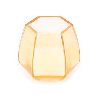 شمعة زجاجية برائحة العسل و الياسمين