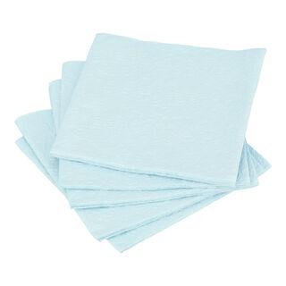 مناديل ورقية مربعة الشكل ازرق من الجانس