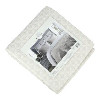 غطاء سرير سوبر كنج لون حجري من كوتاج