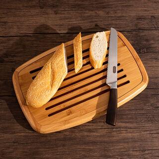 لوح تقطيع للخبز خشب دائري من البرتو