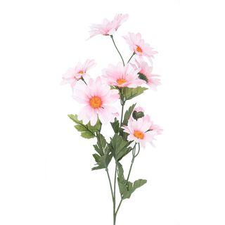 زهرة الاقحوان صناعية لون وردي فاتج