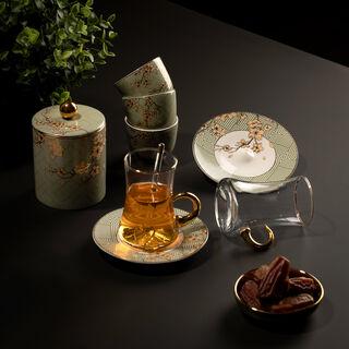 طقم شاي و قهوه 28 قطعة