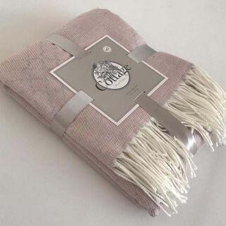 بطانية خفيفة مخططة من كوتاج