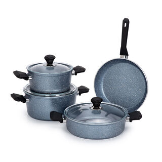 طقم ادوات طهي 7 قطع لون ازرق من بينتولا