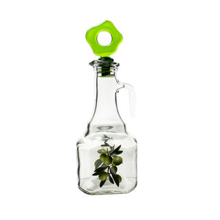 زجاجة زيت مربعة الشكل سعة 275 مل متعددة الالوان من هيرفين