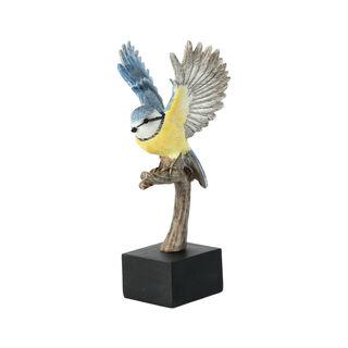 تحفة تصميم طائر للديكور لون ازرق