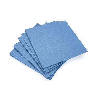 مناديل ورقية مربعة لون ازرق من امبيانتي