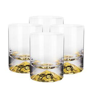 طقم اكواب زجاجية 4 قطع من لاميسا