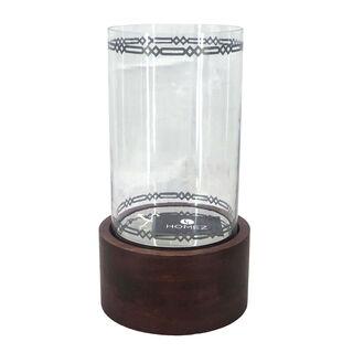 مزهرية زجاجية تصميم كوفه من هومز