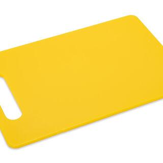 لوح تقطيع بلاستيك أصفر